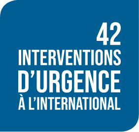 42 interventions d'urgence à l'international